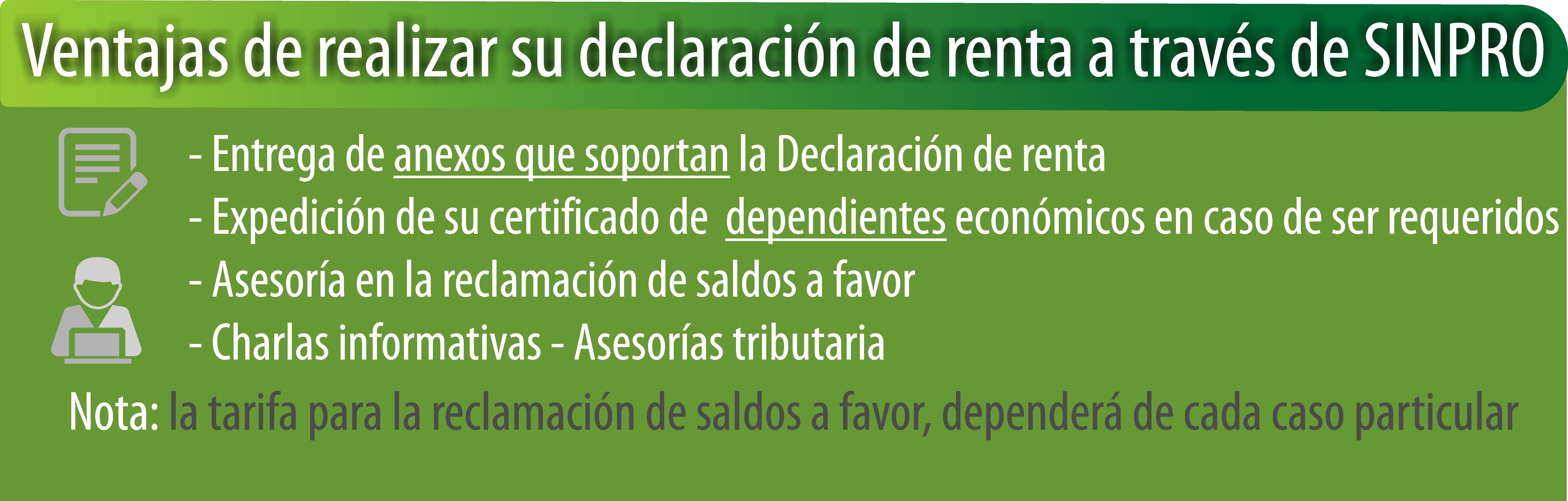 Declaración de renta 2017